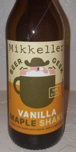 Beer Geek Vanilla Maple Shake