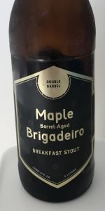 Maple Barrel-Aged Brigadeiro