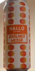 Hallo Ich Bin Berliner Weisse Mango