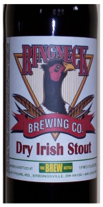 Ringneck Dry Irish Stout