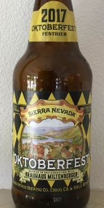 Sierra Nevada Oktoberfest - Brauhaus Miltenberger Collaboration