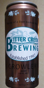 Bitter Creek A Beer Named Bob
