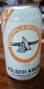 Orange Krush Kölsch | Wrightsville Beach Brewery | BeerAdvocate