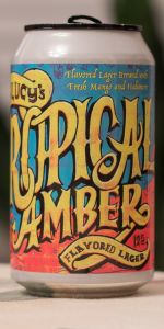 Lil' Lucy's Tropical Amber Flavored Lager