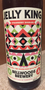 17cdbe42 Jelly King - Strawberry Rhubarb | Bellwoods Brewery | BeerAdvocate