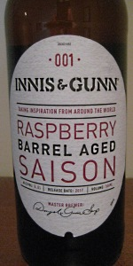 Raspberry Barrel Aged Saison