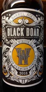 Black Boar - Barrel Aged Batch II
