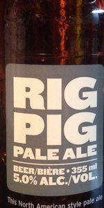 Rig Pig Pale Ale