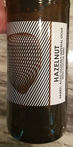 Hazelnut Barrel Aged Imperial Stout with Cocoa Nibs