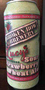 Lucy's Sour Strawberry Wheat Ale