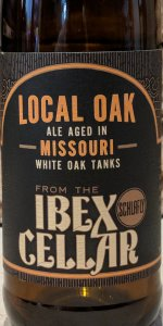 From The Ibex Cellar:  Local Oak