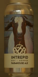 Intrepid Dry-Hopped Farmhouse Ale