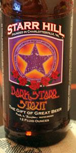 Dark Starr Stout