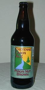 Cheyenne Canon Pinon Nut Brown Ale