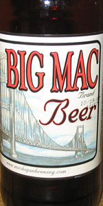 Michigan Brewing Big Mac Beer