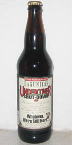 12th Anniversary Undercover Investigation Shut-Down Ale