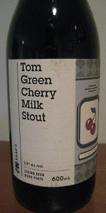 Tom Green Cherry Milk Stout