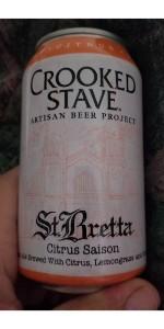 St. Bretta Citrus Saison