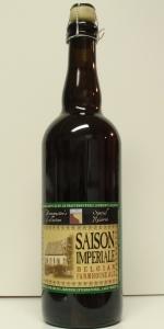 Saison Imperiale - Belgian Farmhouse Ale
