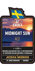 S:t Eriks Midnight Sun Ale