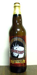 Avery Anniversary Ale - Thirteen