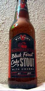 Blackboard Series #7 - Black Forest Cake Stout with Cherry