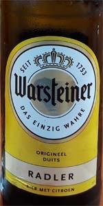 Warsteiner Premium Radler Zitrone