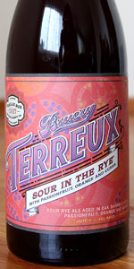 Sour In The Rye - Passionfruit, Orange And Guava