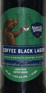 Samuel Adams Coffee Black Lager