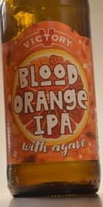 Blood Orange IPA with Agave
