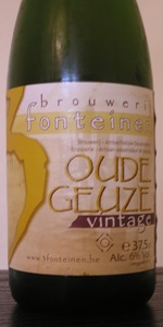 Drie Fonteinen Oude Geuze Vintage