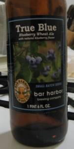 True Blue Blueberry Ale