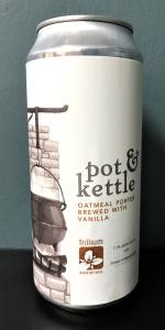 Pot & Kettle Oatmeal Porter W/ Vanilla Beans