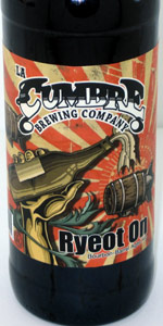 Ryeot On (Bourbon Barrels Aged Ale)