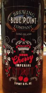 Sour Cherry Imperial Stout