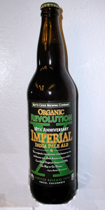 Butte Creek Organic Revolution X Imperial IPA