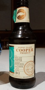 Cooper Project No. 3:  Barrel-Aged Porter