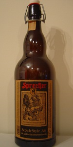 Scotch Style Ale Aged In  Oak Bourbon Barrels