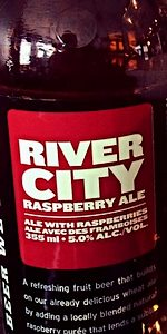River City Raspberry Wheat Ale