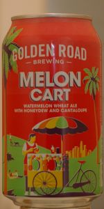 Melon Cart Watermelon Wheat Ale