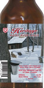 Heritage Maple Bush Lager