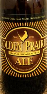 Golden Prairie Ale