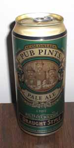 Colonial Pub Pints Pale Ale
