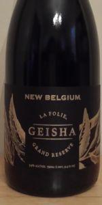 La Folie Grand Reserve: Geisha Sour Ale