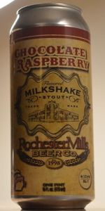 Chocolate Raspberry Milkshake Stout
