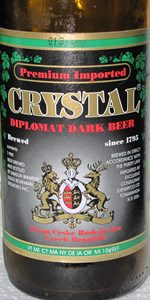 Crystal Diplomat Dark Beer
