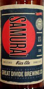 Samurai Ale