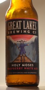 Holy Moses Raspberry White Ale