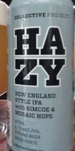 Collective Project: Hazy IPA