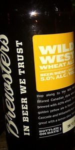 Wild West Wheat Ale
